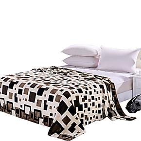 超柔法莱绒毛毯 珊瑚绒毯子 办公室午睡毯 特价