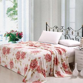 【会员购】超柔 珊瑚绒毯子法莱绒毛毯 床单空调被毯珊瑚绒毯包邮