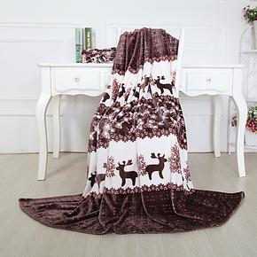 骏仔毛毯法兰绒毯子加厚冬珊瑚绒床单毛毯单人单双层午睡盖毯特价