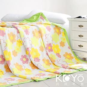 维科 兴洋毛毯 懒人毯/空调毯多功能被套毯子 花香弥漫 正品包邮