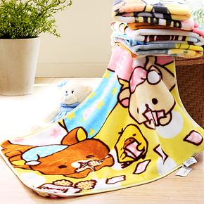 维科家纺兴洋毛毯 儿童卡通小毛毯 打扑克 冬季保暖膝盖毯
