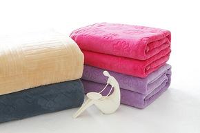 兴洋毛毯 珊瑚绒休闲毯 毛巾被单人床单