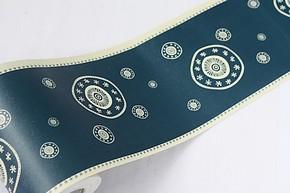爱花PVC自粘墙纸家具贴膜卧室书房专业地脚线 壁纸 腰线贴 B1106