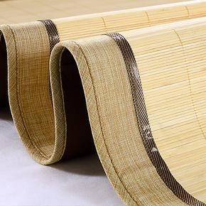 柏丝羽 新品清扬竹凉席 环保镜面折叠双面竹席子 1.5/1.8米