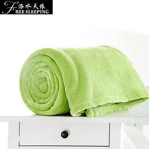 法兰绒毛毯 单双人空调毯绒毯床单 珊瑚绒毯子升级 毛巾被 午睡毯