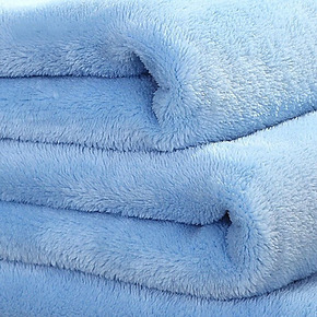 恒源祥珊瑚绒毯加厚法莱绒毯春秋盖毯毛毯专柜正品法兰绒毯子午休