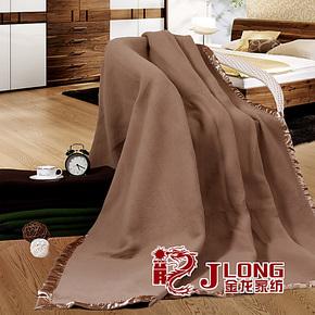 宾馆酒店旅馆100%全羊毛 晴纶毛毯 批发 单双人加厚毛毯特价包邮