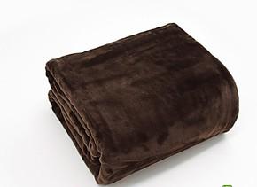 尾货咖啡金貂绒毯超柔晴纶毛毯 加厚拉舍尔毯子床单盖毯冬用毯