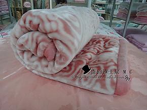 冲冠!特价包邮!红豆双层加厚儿童毛毯空调毯150*2001.5米毯子