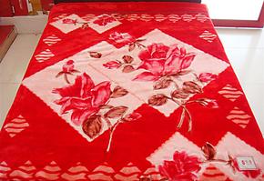 毛毯 红豆  实拍图114大红