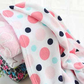 外贸原单好品质儿童毛毯被子双面绒珊瑚绒毯子休闲男女通用空调毯