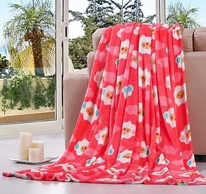 禧运 超柔法莱绒毯子 超越珊瑚绒毛毯 夏凉被 小绵羊 江浙沪包邮