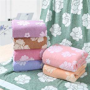 罗莱毛巾被纯棉双人空调被毛巾毯空调毯夏季毛毯双层提花毛毯特价