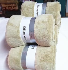 外贸原单premier line长毛绒/超柔舒棉绒空调毯/加厚床单/毛毯子