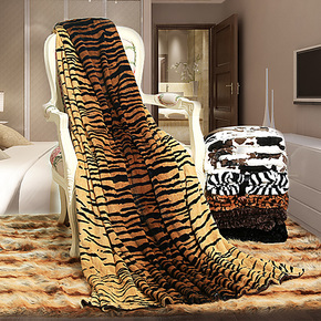 万帛 毛毯冬加厚 毛巾被毯子盖毯舒棉绒毛巾毯午睡毯床单珊瑚绒毯