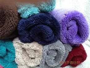 工厂直销, 外贸长毛舒棉绒毛毯 膝盖毯 多功能小毯, 50×70CM