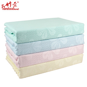 竹爱竹纤维三叶草盖毯 床单毛毯 空调被床毯子 午睡盖毯 C005