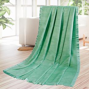 恒美家纺 竹纤维毛巾被 单双人竹纤维毛毯子 儿童盖毯 空调毯特价