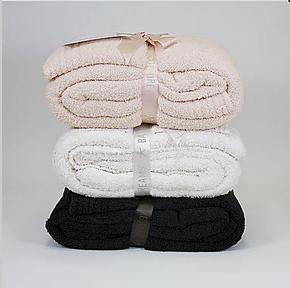 包邮美国原单软绵绵竹纤维毛毯