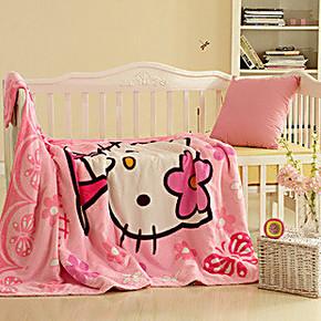 派瑞家纺珊瑚绒毯毛毯 毯子单人儿童白领加厚床单卡通空调毯特价