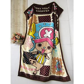限量版 加厚婴儿童毯 拉舍尔毛毯 单人午睡毯子 蝴蝶绒卡通小毛毯