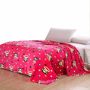 【VIP大卖场】梦洁家纺法莱绒毛毯 毛巾被 夏空调毯子 儿童午睡毯