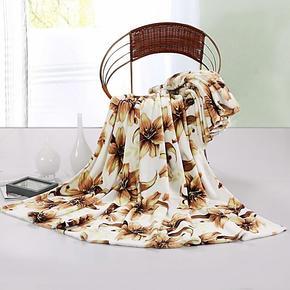 梦洁家纺床上用品 毯子 毛毯珊瑚绒毯 单毯毛毯加厚毯冬毯休闲毯