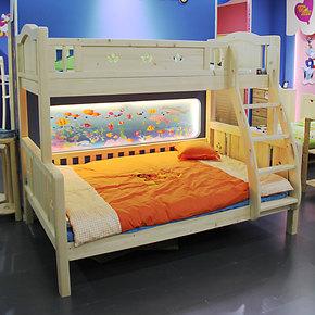 贵人缘松木家具 儿童床/双层床/高低床/子母床 实木儿童床香柏年