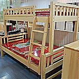 松木江苏木质双层床实木童床儿童高低床 床类 住宅家具 特价