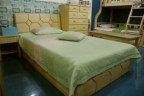 贵人缘儿童双层床子母床高低床母子床儿童家具套房上下床儿童床5#