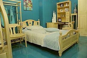 贵人缘儿童双层床子母床高低床母子床儿童家具套房上下床儿童床4#