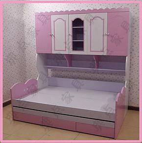 儿童家具 儿童床 1.2/1.5米衣柜床 子母床 上下床 高低床 双层床