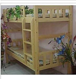 学生床普通上下床实木家具双层床上下床实木床护栏床实木高低床