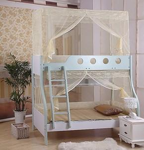 包邮定做高低床子母床蚊帐订做上下铺学生儿童蚊帐可定做任意尺寸