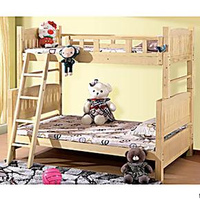 实木儿童床 上下床 双层床 高低床 子母床 三层床 小孩床特价包邮