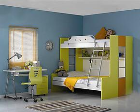 多喜爱儿童家具简约现代床高低床双层床母子床8A117/8A113