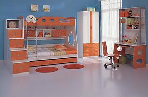 未来之窗 正品儿童床671高低床/双层床/三层套房