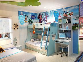 未来之窗HY-6142床青少年儿童家具成套家具高低床
