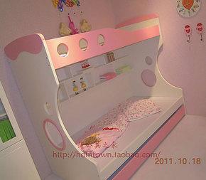 蒲公英家6147高低床 未来之窗品牌上下床 1m双层床 儿童三层床
