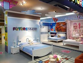 未来之窗HY--6150床青少年儿童家具成套家具高低床
