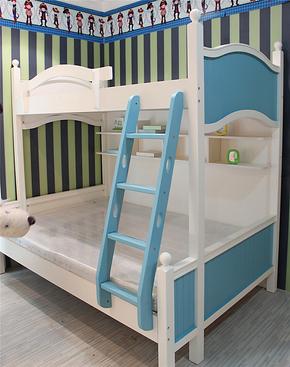 未来之窗6319韩式田园风格儿童床上下铺高低床上下床子母床双层床