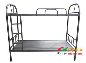 苏州校用双层床 双层铁床学校用品学生床员工床高低床上下铺床