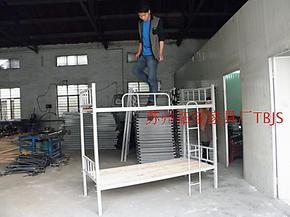 上下铺床,双层铁架床,高低床,学生床,员工床,学校用床,工厂用床