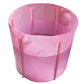 出口 成人浴盆浴缸洗澡木桶 折叠 免充气 大人塑料浴桶 泡澡浴池