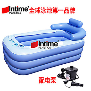 正品盈泰intime 保暖浴缸 充气浴缸 游泳池 盈泰intimeYT-038配电
