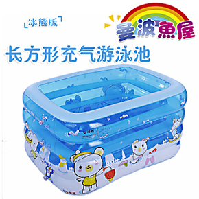 曼波鱼屋 儿童婴儿游泳池 大号充气家庭游泳池  保暖浴缸