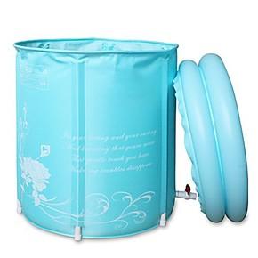 伊润 充气浴缸 环保 折叠浴桶 成人浴盆 洗澡桶 沐浴桶 65*70清仓