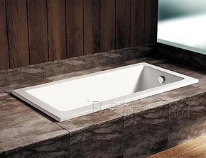 1.5-1.7米方形嵌入式纯亚克力卫浴浴缸 时尚压克力预埋泡澡缸0616