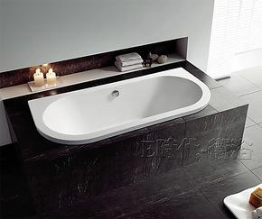 1.7米压克力嵌入式精品浴缸 正品纯亚克力特色泡澡缸 OMS-0607