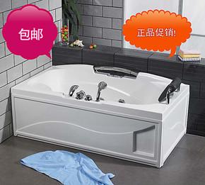 1.7米大气白色亚克力压克力五件套可带按摩大浴缸